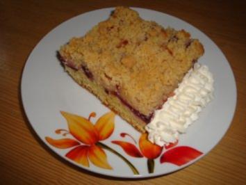 Zwetschgenkuchen mit Zimt-Streuseln - Rezept