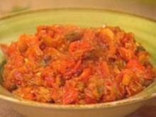 Paprika-Auberginen-Mus - Rezept