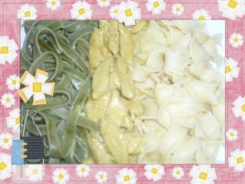 Pasta Stroh und Heu - Rezept