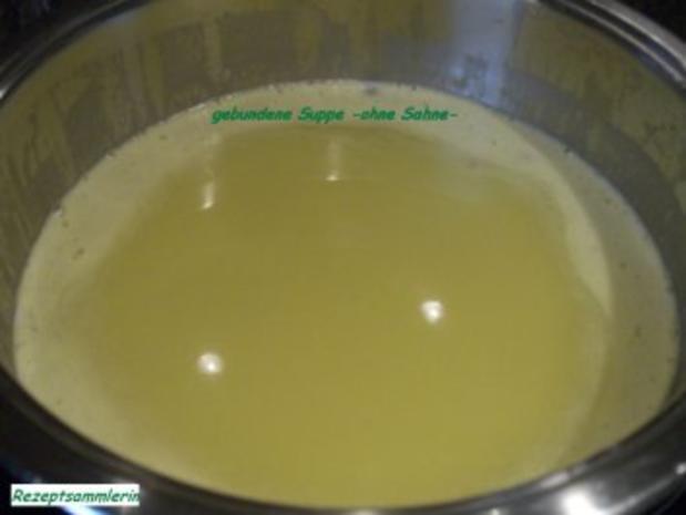 Suppe:   LAUCHCREMSUPPE - Rezept