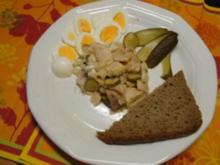 Salat von geräucherter Forelle - Rezept