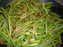 Grüne-Bohnen-Gemüse aus der Pfanne - Rezept