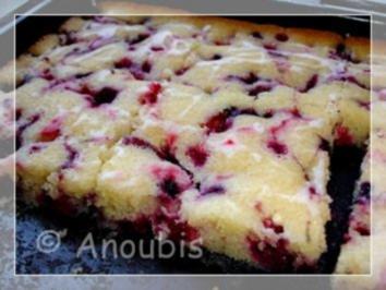 Kuchen/Gebäck - Beerenkuchen vom Blech - Rezept