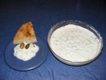 Tsatsiki oder Zaziki - Rezept