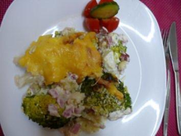 Blumenkohl-Broccoli-Auflauf - Rezept
