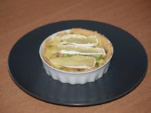 Käse - Quiche mit Birnen - Rezept