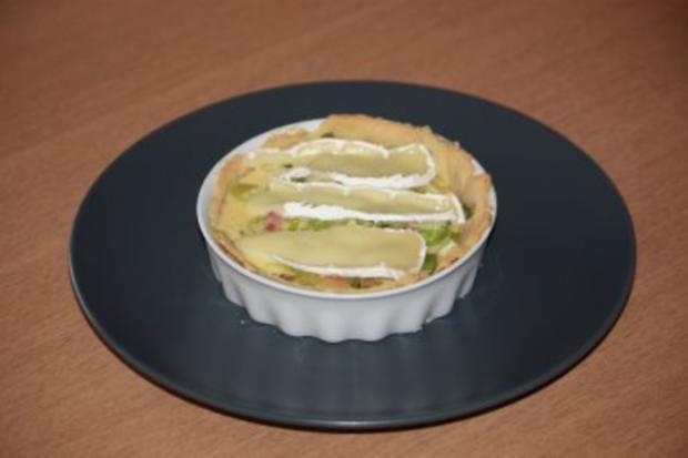 Käse - Quiche mit Birnen - Rezept - Bild Nr. 2