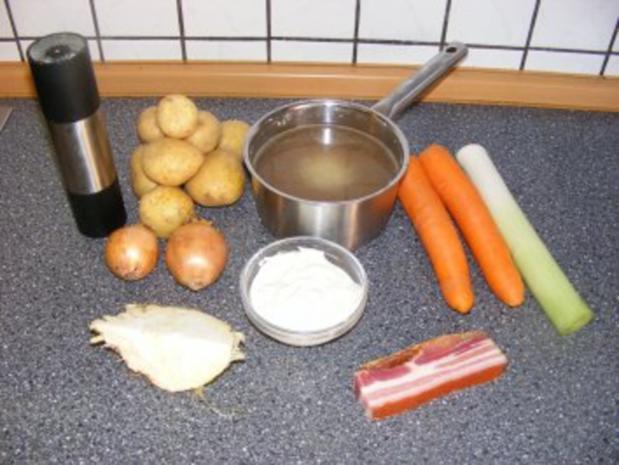 Mamas Kartoffelsuppe - Rezept - Bild Nr. 2