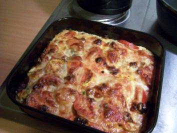 Zucchiniauflauf italienisch gewürzt - Rezept