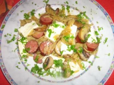 Cabanossi-Kritharaki-Pfanne - Rezept