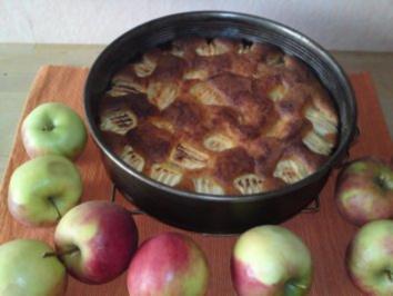 Apfel-Kuchen,sehr fein - Rezept