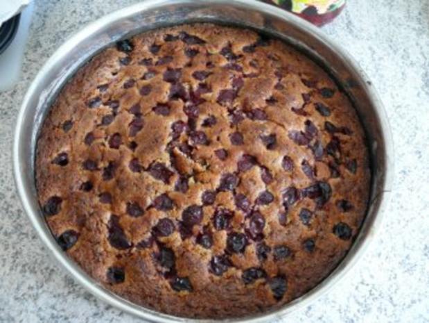 Kirsch ~ Schoko ~ Kuchen - Rezept - Bild Nr. 5