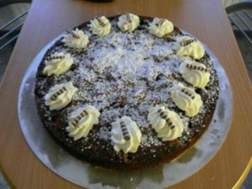 15 Schoko Kirsch Kuchen Mit Sahnehaube Rezepte Kochbar De