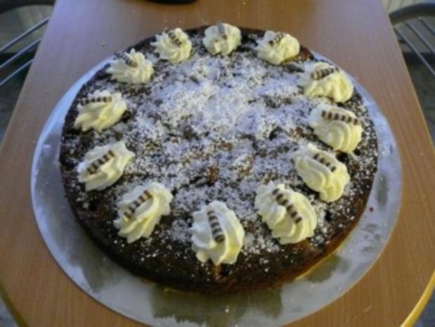 Kirsch ~ Schoko ~ Kuchen - Rezept