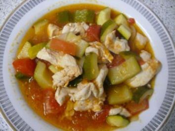 Zucchini-Eintopf - Rezept