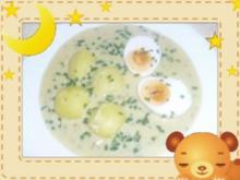 Eier in Senfsoße - Rezept