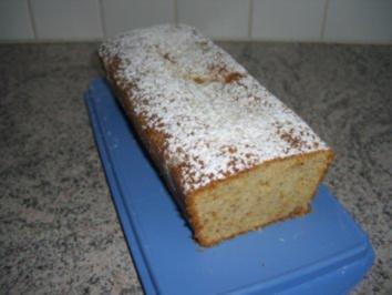 Marzipan-Mandel-Kuchen - Rezept