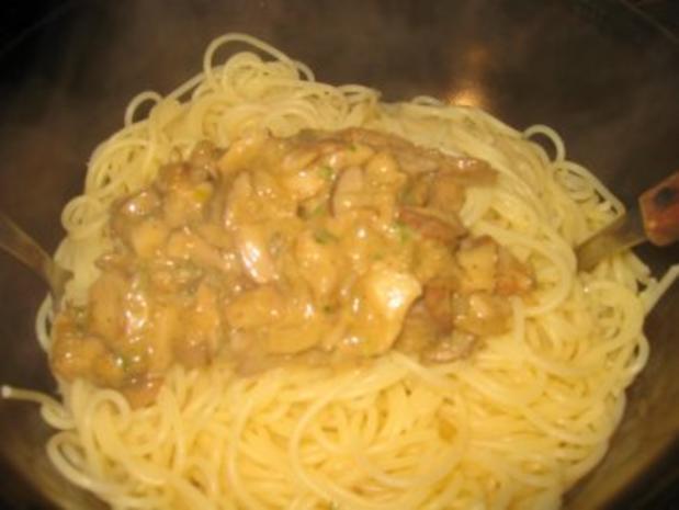 Vegetarisch: Steinpilz Pasta - Rezept - Bild Nr. 3