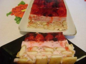 Gestürzter Beerenkuchen - Rezept