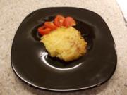 Kartoffelbreiauflauf mit Eiern - Rezept