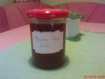 Pflaume-Feige Marmelade - Rezept