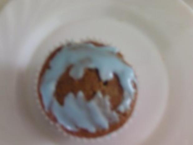 Halloween-Kürbis-Muffins - Rezept