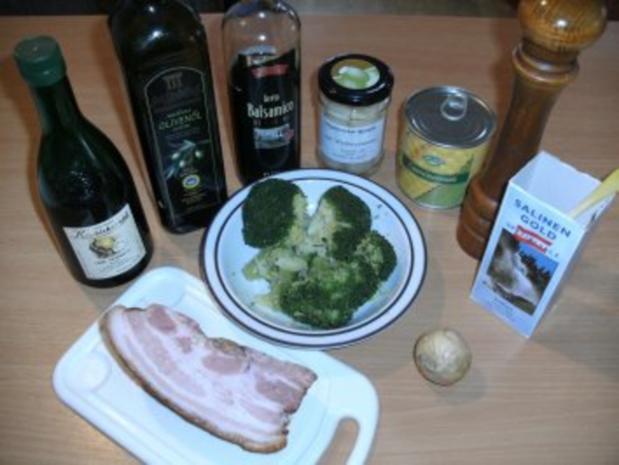 Beilage: Brokkolisalat mit Kürbiskernöl - Rezept - Bild Nr. 2