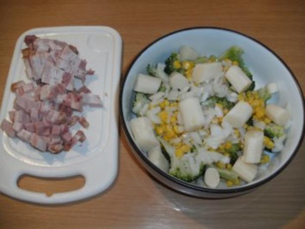 Beilage: Brokkolisalat mit Kürbiskernöl - Rezept - Bild Nr. 3