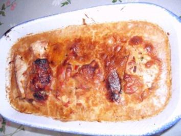 Rezept: gefüllte Putenschnitzel