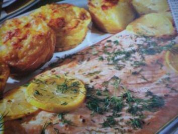 Lachs mit Pfeffer-Hollandaise - Rezept