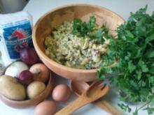 Kartoffelsalat mit Eiern - Rezept