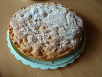 Kuchen/Torten: Torta con le mele - genial schneller Apfelkuchen - Rezept
