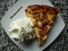 Ricotta - Trauben - Kuchen - Rezept