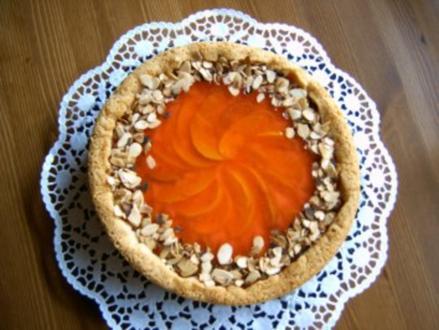 Pfirsiche - Schmand - Torte - Rezept