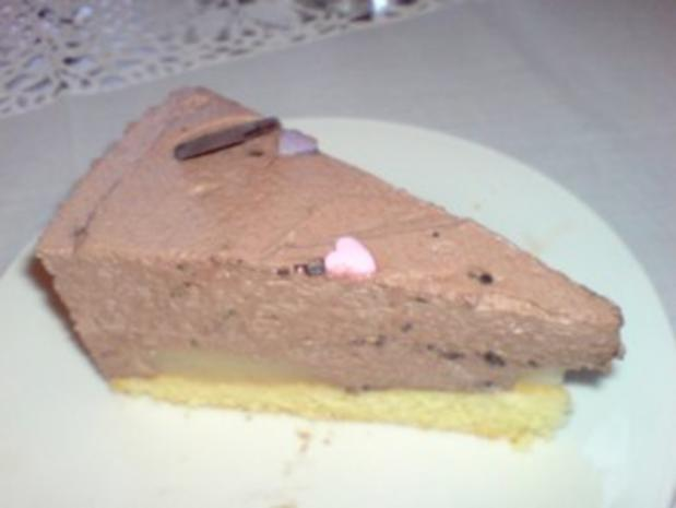 Schoko Sahne Torte Mit Birnen Rezept Mit Bild Kochbar De