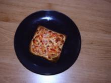 Pizzatoast-Kochschinken für nichtgernkocher :) - Rezept