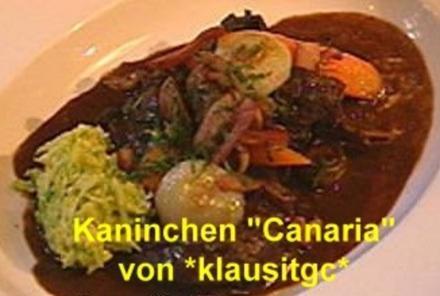 """Kaninchen auf """"Canarisch"""" - Rezept"""