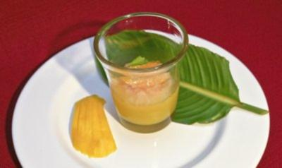 Orangen-Campari-Sorbet mit Mango (Thomas Anders) - Rezept