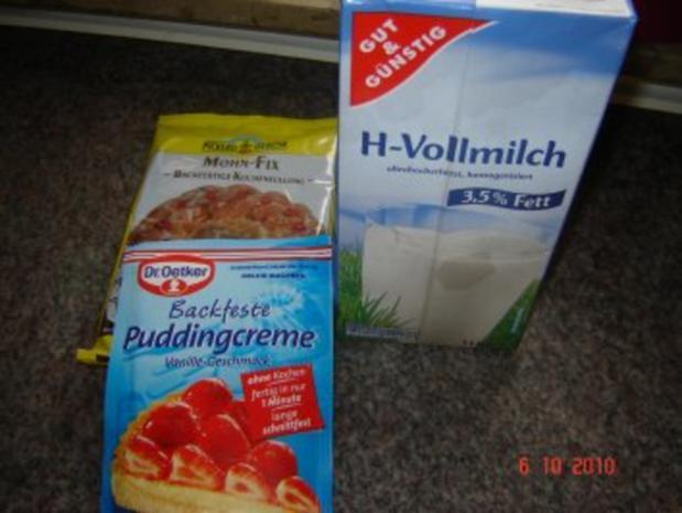 Kuchen + Torten : Hefe-Schneckenkuchen mit 2 Füllungen - Rezept - Bild Nr. 3