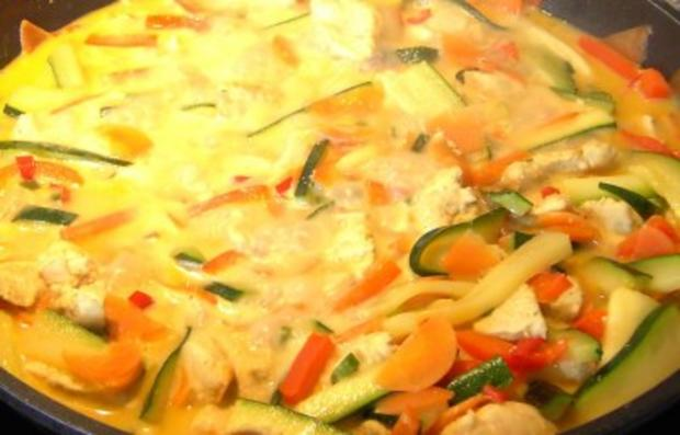 Buntes Thaicurry - Rezept