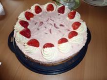 Torten: Erdbeerquarktorte - Rezept