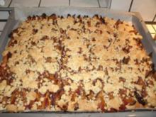 Zwetschgenkuchen mit Streuseln - Rezept