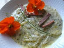 Kohlrabi - Kartoffel -Eintopf mit geräucherten Kassler - Rezept