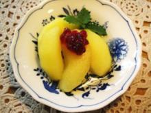 Calvados-Äpfel - Rezept