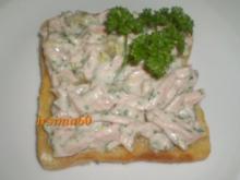 Brotaufstrich: Fleischsalat - Rezept