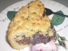 Mohn - Streuselkuchen - Rezept