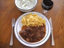 Fleisch: Fledermaus-Gulasch - Rezept