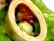 Salat im Tofumantel - Rezept