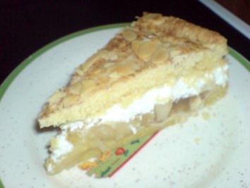Apfel-Zimt-Torte - Rezept