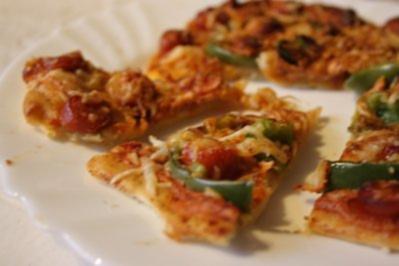 "Pizza ""Scharfer Spanier"" - Rezept"